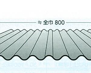 波板 スレート小波